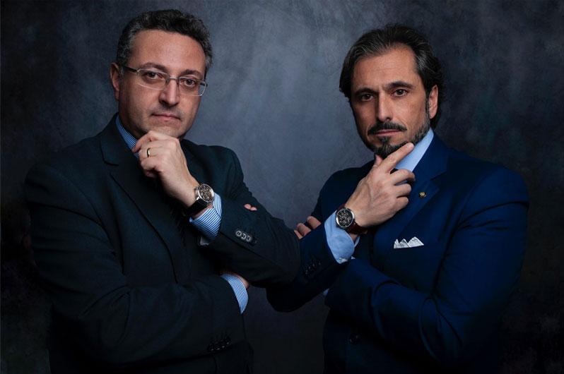 Gianluigi e Carmlo Kefa