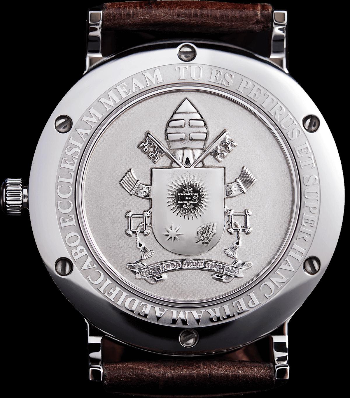 Kefa orologio collezione stemma Vaticano